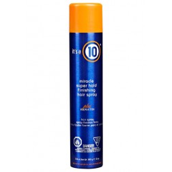 Its a 10 Miracle Super Hold Finishing Hair Spray Plus Keratin 10 Oz