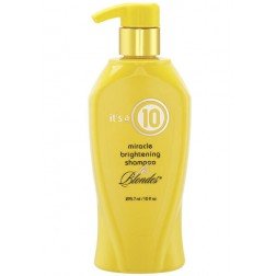 Its a 10 Miracle Brightening Shampoo for Blondes 10 Oz