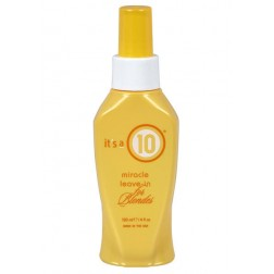 Its a 10 Miracle Leave-in for Blondes 4 Oz