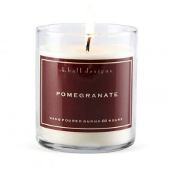 K. Hall Designs Pomegranate Candle