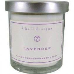 K. Hall Designs Lavender Candle