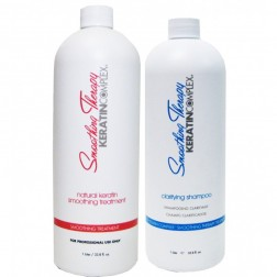 Keratin Complex Natural Smoothing Treatment And Clarifying Shampoo 32 (Oz each)