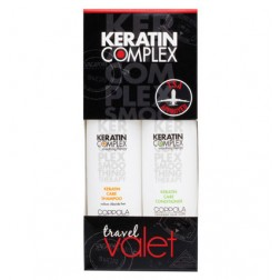 Keratin Complex Shampoo and Conditioner Travel Set