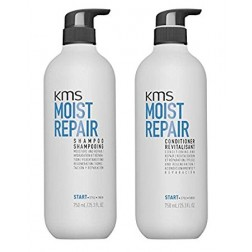 KMS California Moist Repair Shampoo And Conditioner Duo (25.3 Oz each)