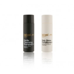 Label.m Travel Set - Daily Care: Shampoo and Conditioner
