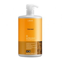 Lakme Teknia Ultra Gold Shampoo 33.9 Oz
