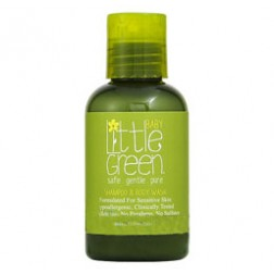 Little Green Baby All In One Shampoo and Body Wash 2 Oz