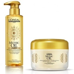 Loreal Professionnel Mythic Oil Set: Shampoo and Mask