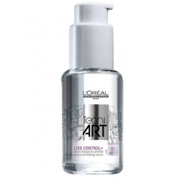 Loreal Professionnel Tecni.Art Liss Control+ Smoothing Serum 1.7 Oz