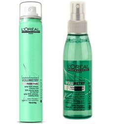 Loreal Volumetry Anti-Gravity Effect Volume Spray 4.2 Oz And Powder Fresh SOS Refreshing Spray 1.75 Oz