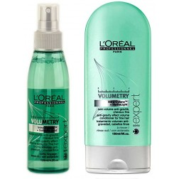 Loreal Volumetry Anti-Gravity Effect Volume Spray 4.2 Oz And Conditioner 5 Oz