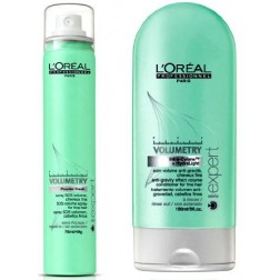 Loreal Volumetry Powder Fresh SOS Refreshing Spray 1.75 Oz And Conditioner 5 Oz