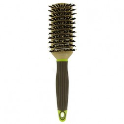 Macadamia Natural Oil Boar Nylon Tunnel Vent Brush