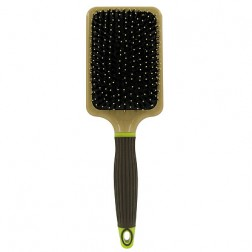 Macadamia Natural Oil Paddle Cushion Brush with Boar Bristles