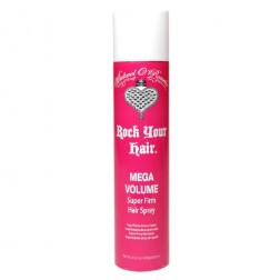 Michael O'Rourke Rock Your Hair Mega Volume Super Firm Hairspray 12 Oz