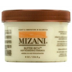 Mizani Butter Rich Deep Nourishing Hairdress 8 Oz
