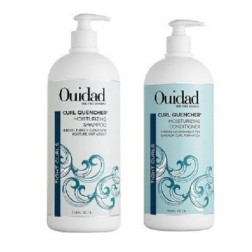 Ouidad Curl Quencher Moisturizing Shampoo And Conditioner (33.8 Oz each)