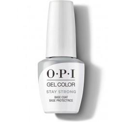 OPI GelColor Stay Strong Base Coat 0.5 Oz