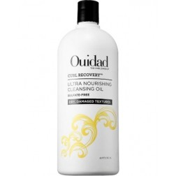 Ouidad Curl Recovery Ultra Nourishing Cleansing Oil Sulfate Free Shampoo 33.8 Oz