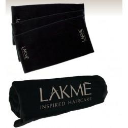 Lakme Black Logo Towel