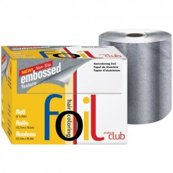 Product Club Embossed Foil Roll Silver