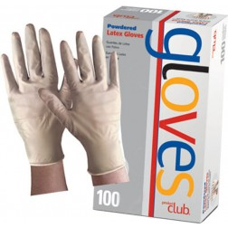Product Club Latex Gloves Powdered 100 Count