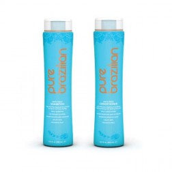 Pure Brazilian Anti-Frizz Shampo & Conditioner 13.5 oz Duo