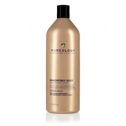 Pureology Nano Works Gold Condition 33.8 Oz