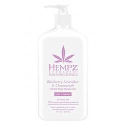 Hempz Blueberry Lavender & Chamomile Herbal Body Moisturizer 17 Oz