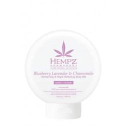 Hempz Blueberry Lavender & Chamomile Herbal Day & Night Softening Body Silk 8.5 Oz