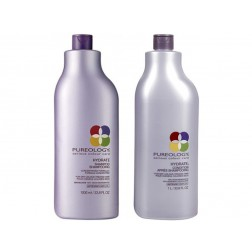 Pureology Hydrate Shampoo And Conditioner Duo (33.8 Oz each)