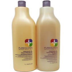 Pureology Precious Oil Shampoo And Softening Condition Duo (33.8 Oz each)