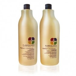 Pureology Perfect 4 Platinum Shampoo And Conditioner Duo (33.8 Oz each)