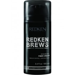 Redken Brews Dishevel Fiber Cream 3.4 Oz