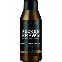 Redken Brews Extra Clean Shampoo 1.7 Oz