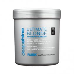 Rusk Deepshine Ultimate Blonde Blue Powder Lightener 16 Oz