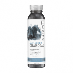 Rusk PureMix Activated Charcoal Purifying Shampoo 12.5 Oz