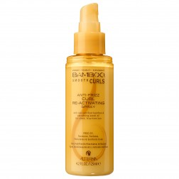 Alterna Bamboo Smooth Anti-Frizz Curl Reactivating Spray 4.2 oz