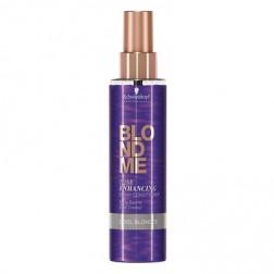 Schwarzkopf BlondMe Cool Blondes Tone Enhancing Spray Conditioner 5 Oz