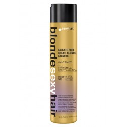 Sexy Hair Blonde Sexy Hair Bright Blonde Sulfate-Free Violet Shampoo 10.1 Oz