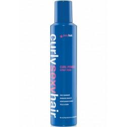 Sexy Hair Curly Sexy Hair Curl Power Spray Foam Curl Enhancer 8.4 Oz