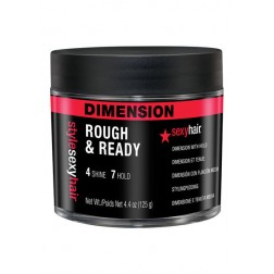 Sexy Hair Style Sexy Hair Rough & Ready Dimension with Hold 4.4 Oz