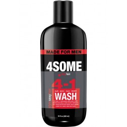 Sexy Hair 4SOME 4-1 Hair, Body, Face, & Beard Wash 16 Oz