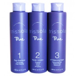Trissola TRUE Keratin Treatment Kit (3 x 16.7 Oz)