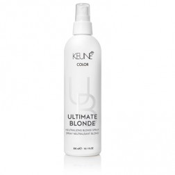Keune Semi Ultimate Blonde Neutralizing Blonde Spray 10.1 Oz