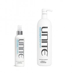 Unite 7SECONDS Shampoo 33.8 Oz and Condition Leave-In Detangler 8 Oz