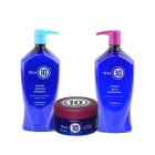 Its a 10 Miracle Moisture Shampoo 33.8 Oz, Daily Conditioner 33.8 Oz And Hair Mask 8 Oz