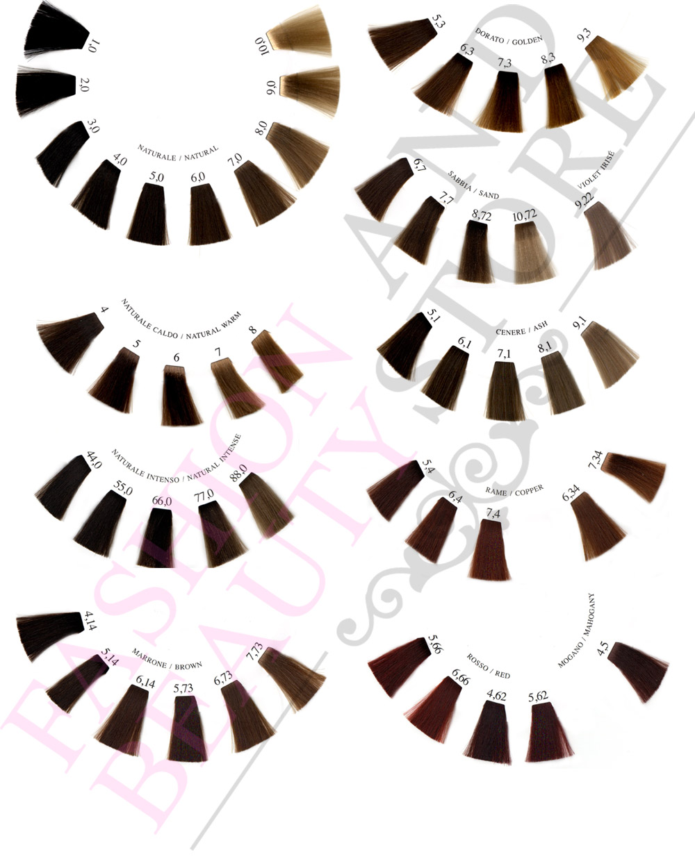 Davines hair color chart dark brown hairs of davines hair color davines a new colour swatch book nvjuhfo Images