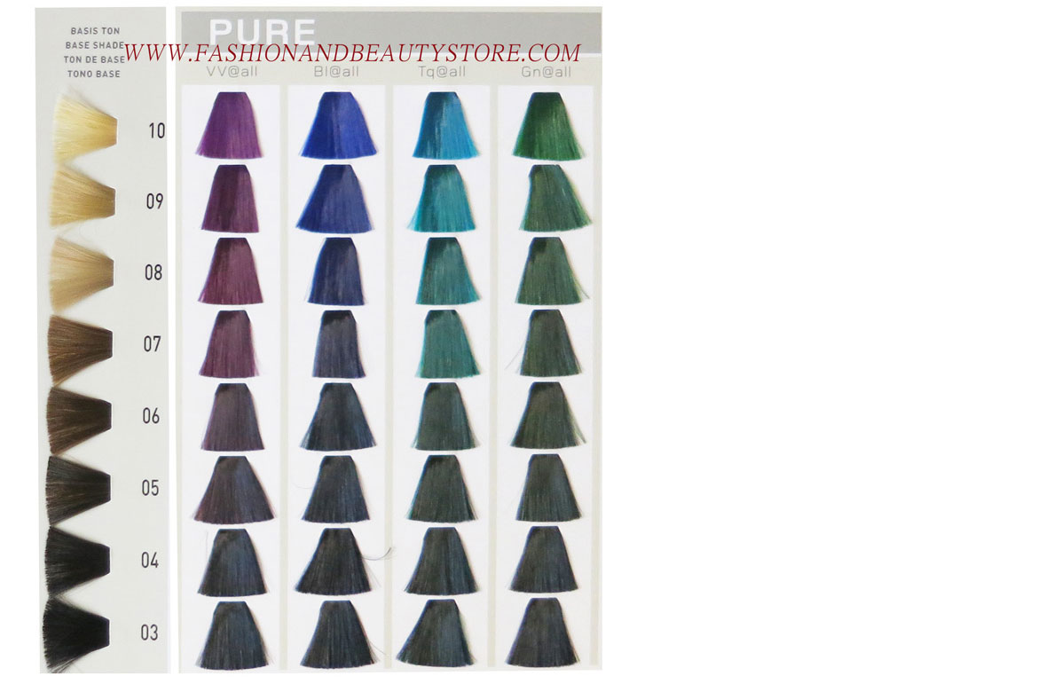 Goldwell elumen color chart facebook nvjuhfo Image collections
